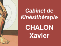 Logo Kinésithérapeute Chalon Xavier