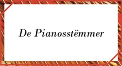 Logo De Pianosstëmmer - Iwan De Scheemaeker