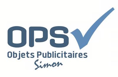 Logo OPS Objets Publicitaires Simon SARLS
