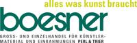 Logo Boesner - Künstlerbedarf & Einrahmungen