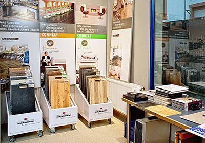 alfred haller bodenbel ge b den einzelhandel f r. Black Bedroom Furniture Sets. Home Design Ideas