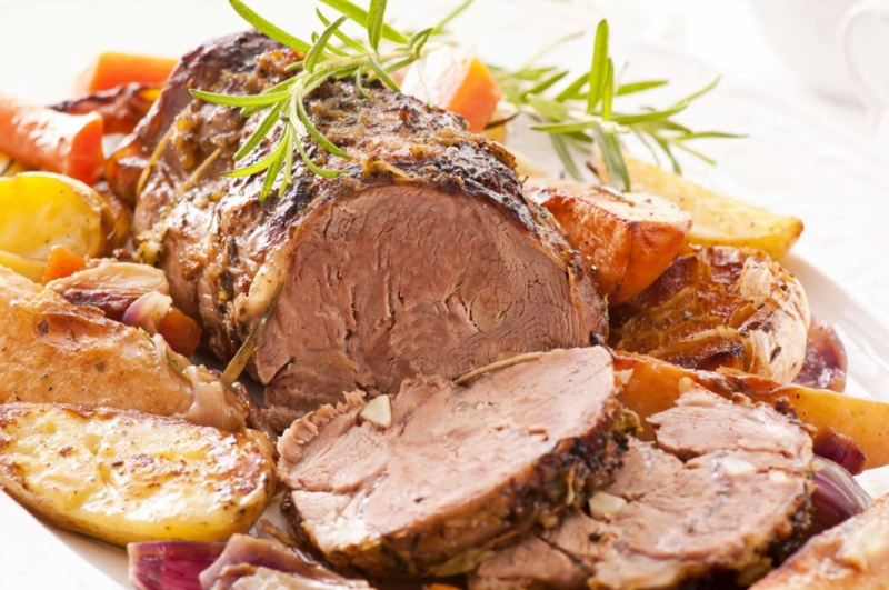 Chef's recipe: leg of lamb