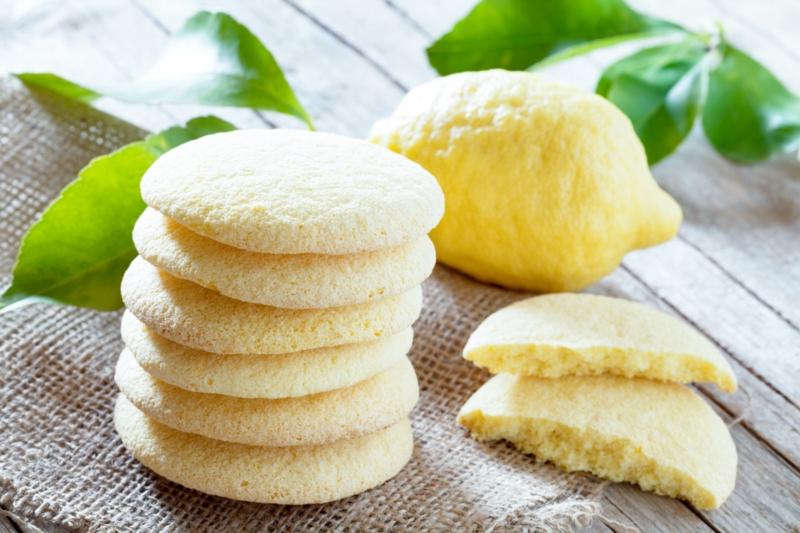 Zitronenplätzchenrezept