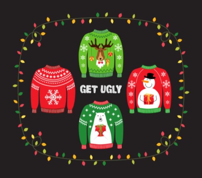 Mettez votre pull de Noël !