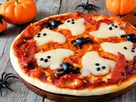 recette pizza halloween