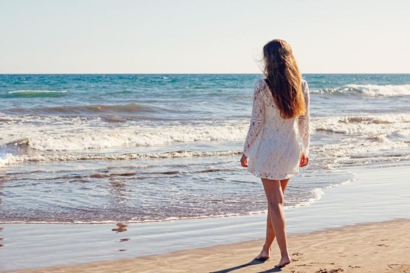 Wie schön am Strand sein?