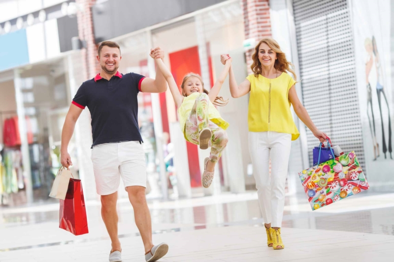 The 7 Commandments of a successful family shopping session