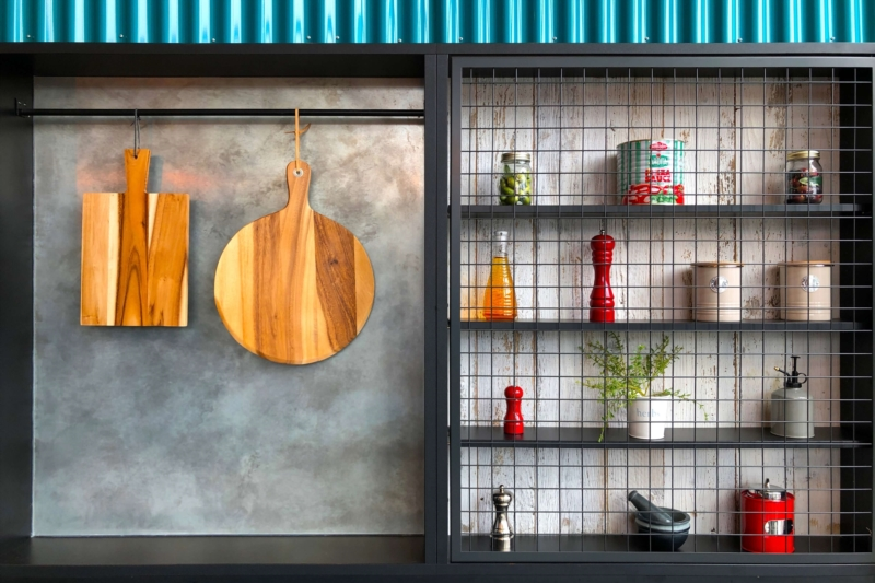 A kitchen loft spirit