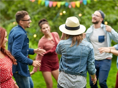 jardin en fête