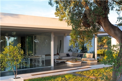 House extension, veranda