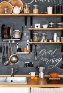 Une cuisine esprit loft