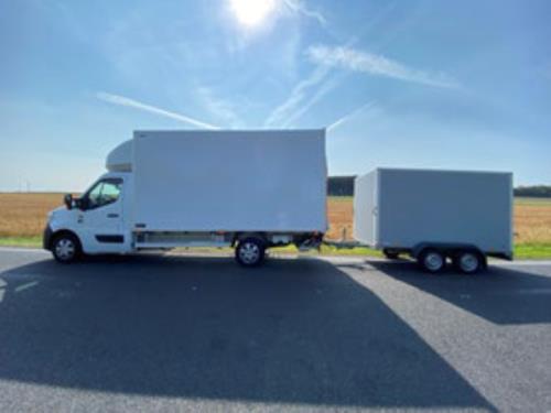 Service transport avec chauffeur 28.5 M3