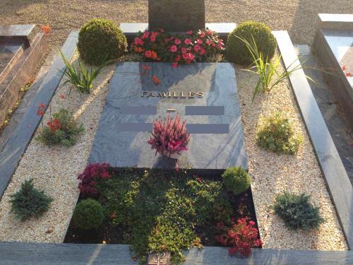 Aménagement de tombes