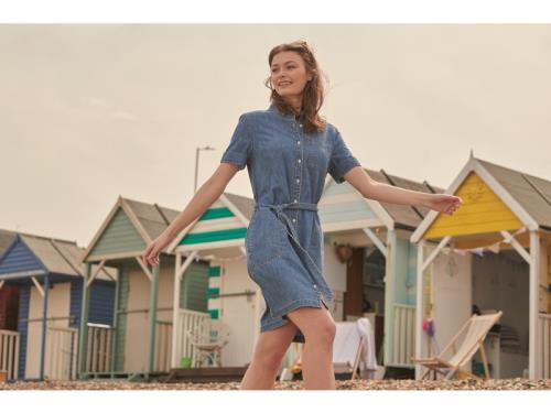 Coastal Seaboard denim Dress