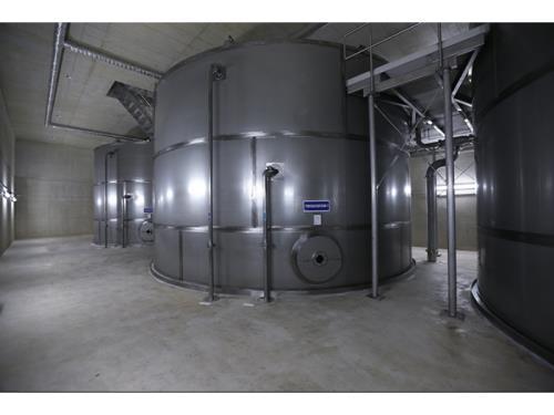Réservoirs en acier inoxydable pour eau potable