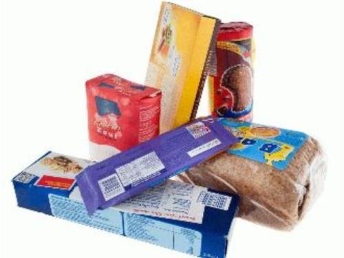 Palette de produits alimentaires