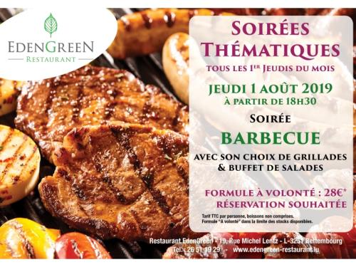 Soirée Barbecue du 1 Août