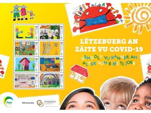 8 timbres spéciaux COVID-19