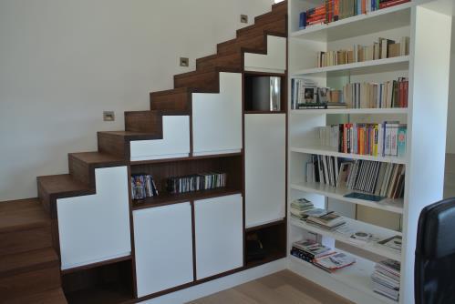 Escaliers / Bibliothèques