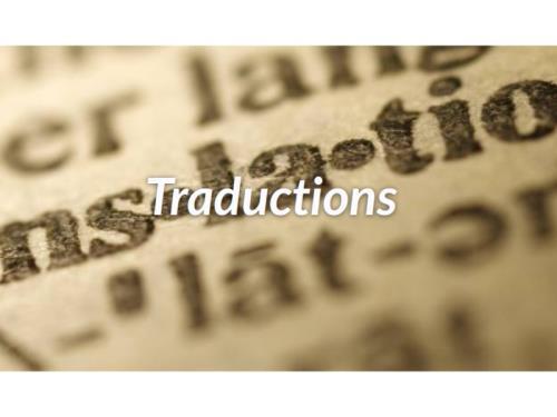Traductions