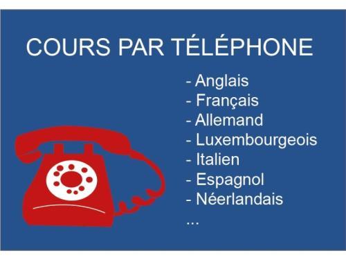 Cours par téléphone