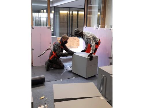 Récupération de mobilier