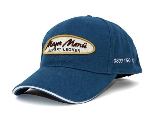 Baseballcaps in your design MOQ 150pcs