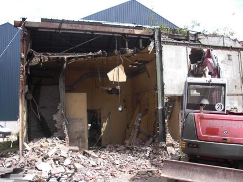 Démolition bâtiment