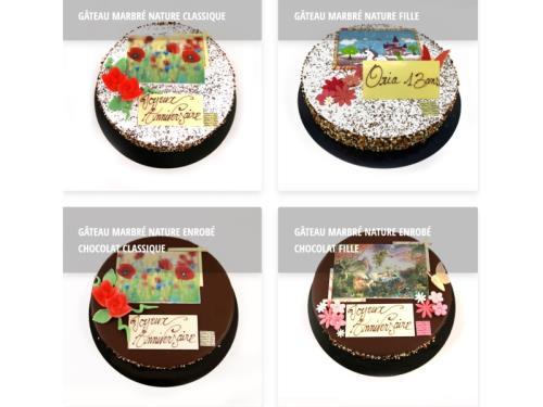Gâteaux à personnaliser