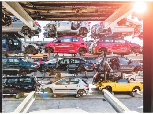 Recycleur automobile