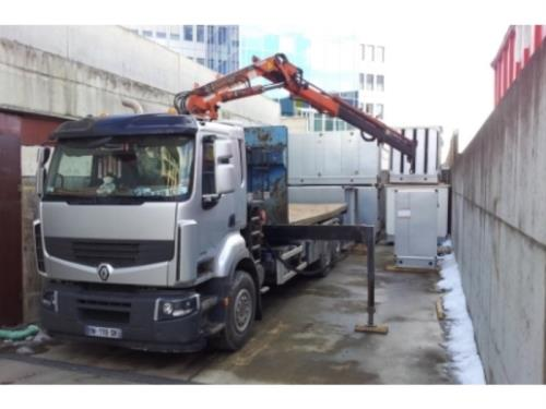 Manutention camion-grues