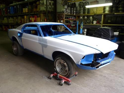 Restauration de voitures anciennes