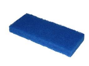 Tampon à récurer Doodle Bug 25x10x2,5 cm bleu