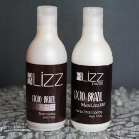 R Lizz Paris, shampoing et après-shampoing anti-frizz