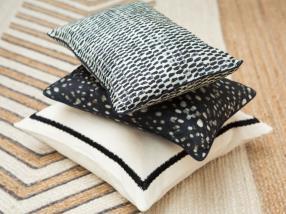 Coussins, textiles