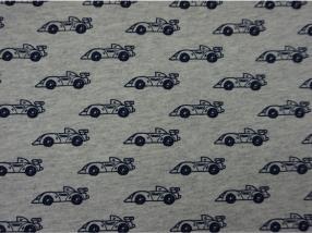 """cotton 65% """"Race cars"""""""