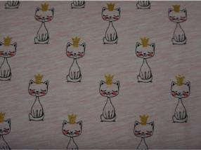 """cotton 65% """"Shining cats bru"""""""