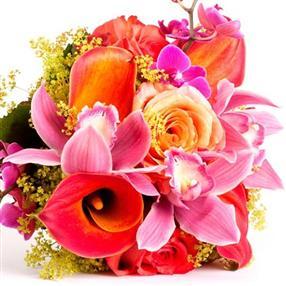 Composition florale pour mariages, communion, anniversaire