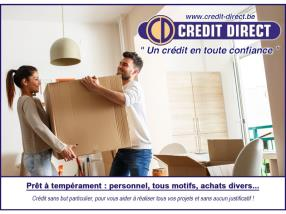 Prêt personnel / Crédit à tempérament