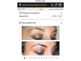 Maquillage permanent de sourcils