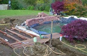 Création et entretien de bassins