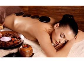 Massage aux pierres chaudes 80 min