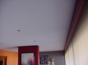 Pose de plafond tendu - APRES