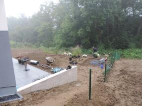 Plantation/Aménagement d'espace vert