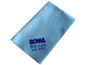 Paquet de 5 lavettes pour verres MicroGlossy 50x60 cm vertes