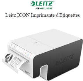 Leitz ICON Imprimante d'Etiquettes