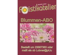 Blumen-Abo, 3-12 Monate, alle 14 Tage frische Kompositionen