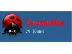 Coccinelles 24 - 36 mois