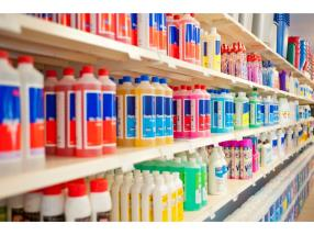 Sale of machines, products and accessories for cleaning