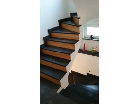 Escalier combination Black Slate et Chêne